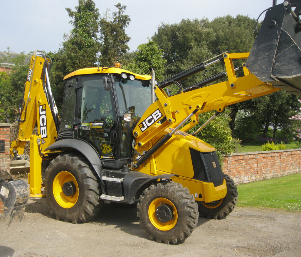 3CX JCB back loader with easy control