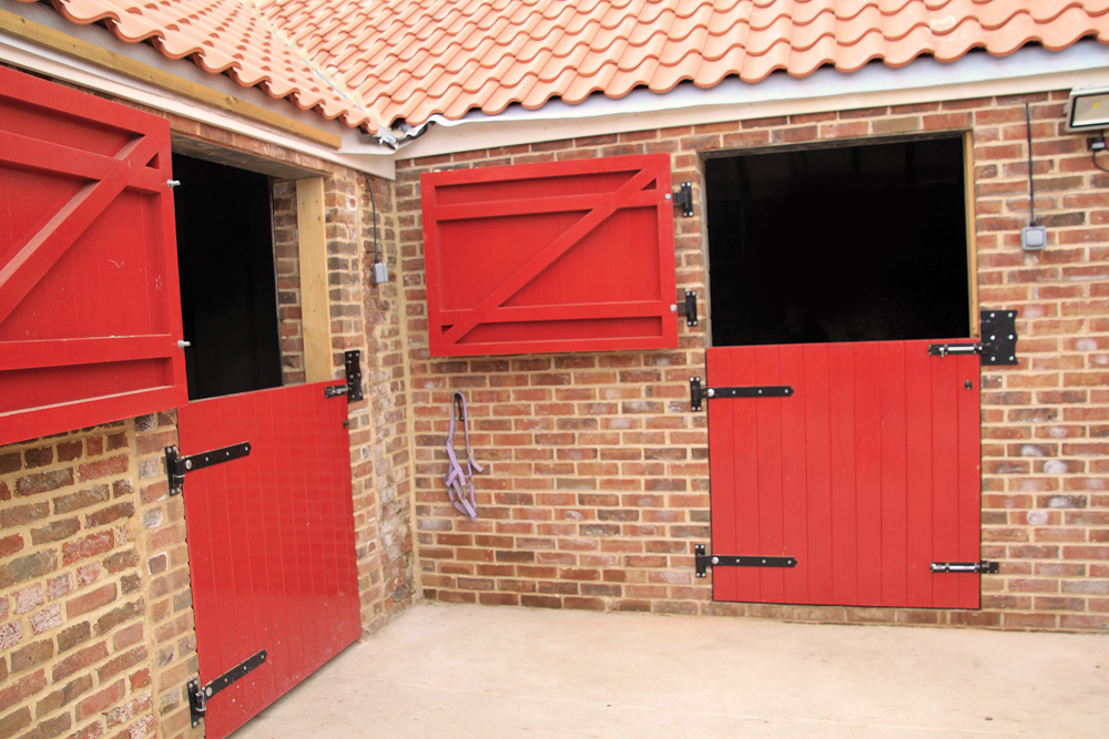 Brick Stable Block With Stable Doors