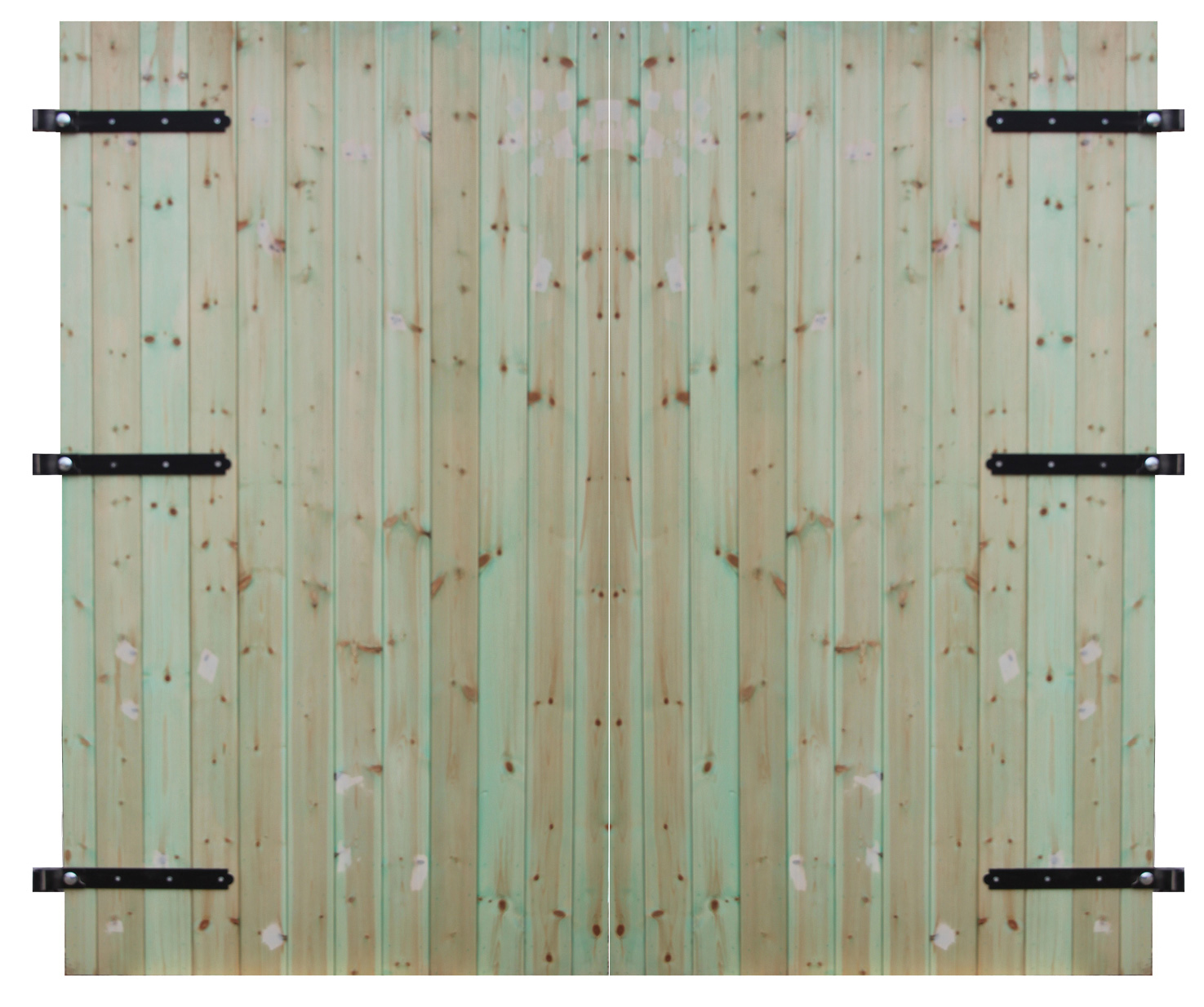 Wooden Garage Doors Treated Soft Wood