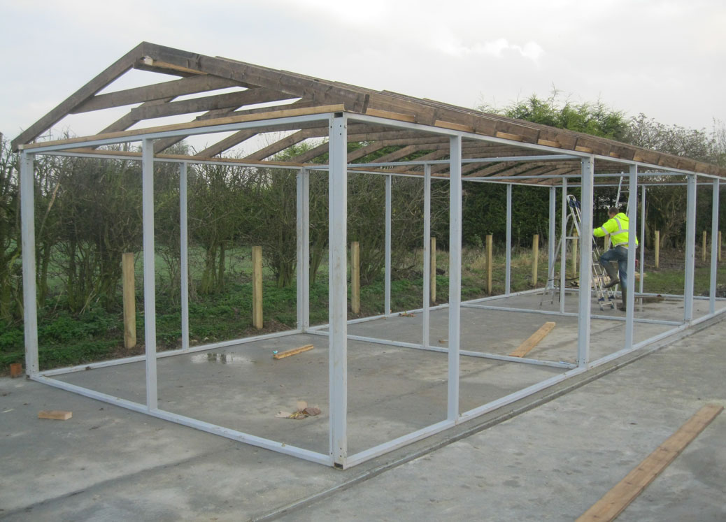 The metal framework of a new stable